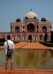 Videonauts Indien Business Reise 2012 Humayun's tomb