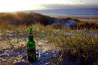 Videonauts Sylt Strand im Winter & Bier bei -2 Grad