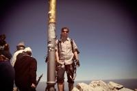 Videonauts Zugspitze Trekking über Ehrwald Gipfelkreuz