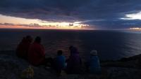 Videonauts Camino Jakobsweg Cap Fisterra Sonnenuntergang