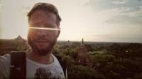 Videonauts backpacking Burma Bagan sunrise