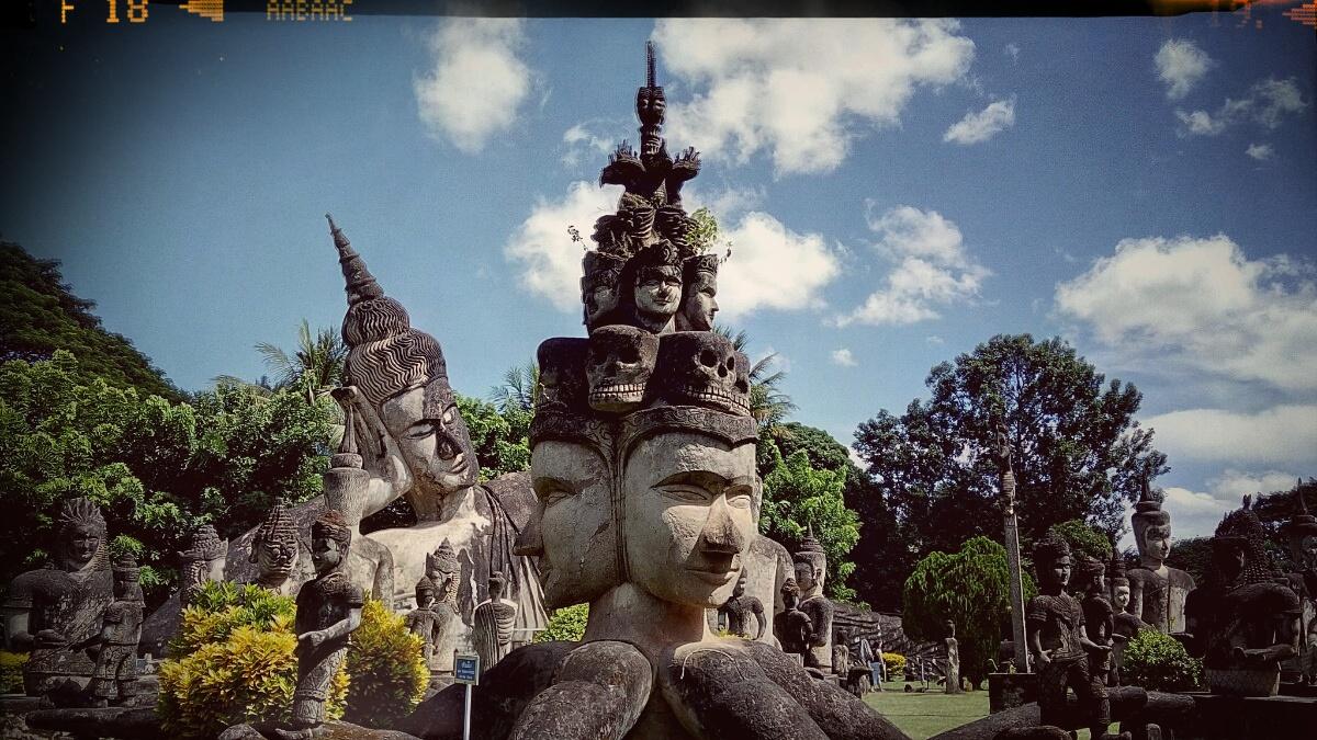 Videonauts Sabbatical Laos Vientiane Buddha Park