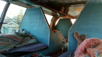 Videonauts backpacking Laos sleeper bus