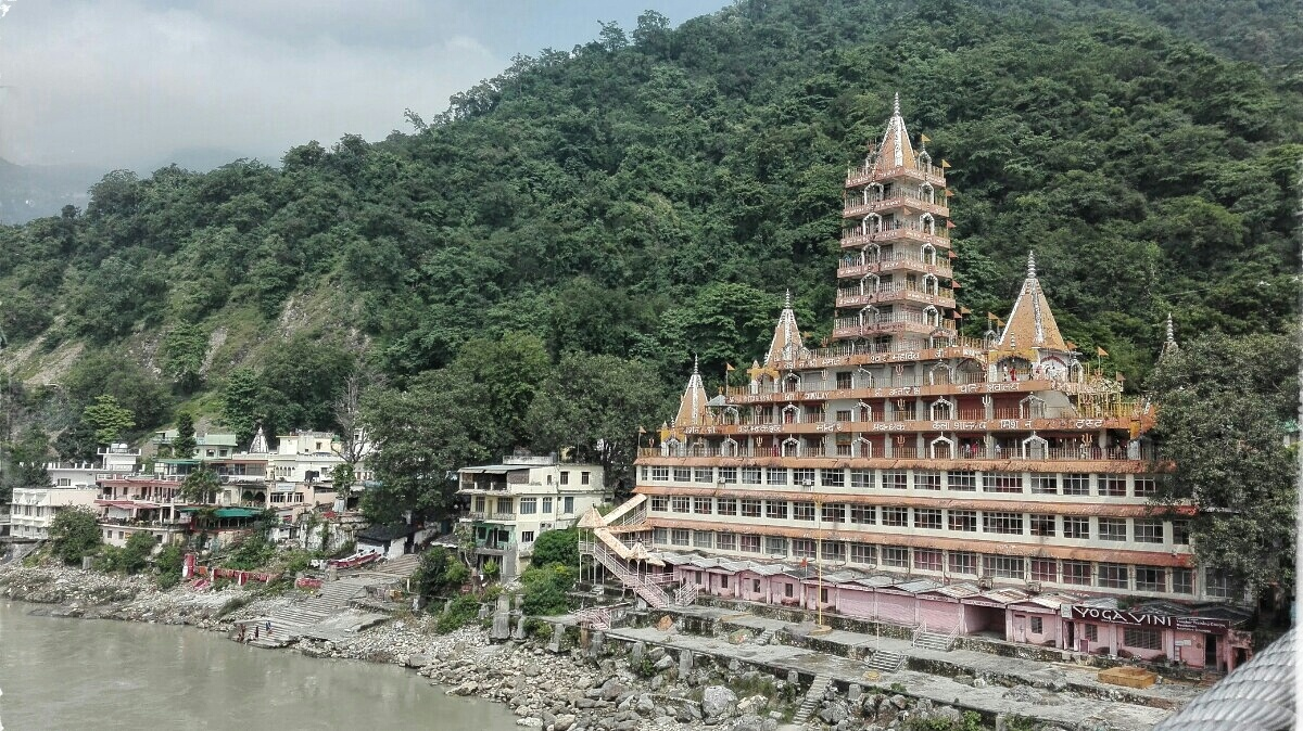 Videonauts backpacking Indien Rishikesh IV