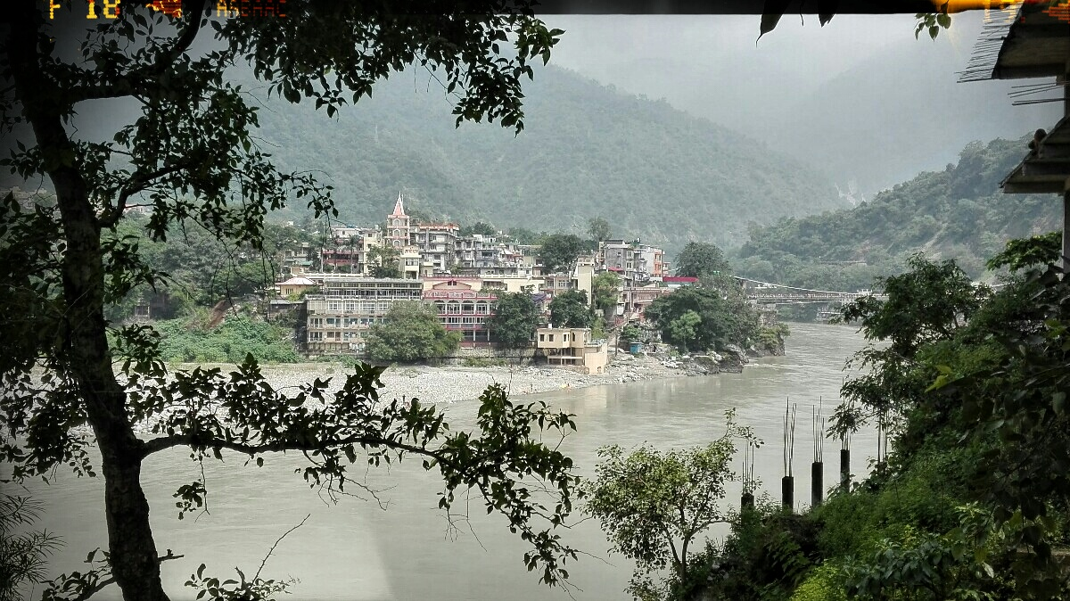 Videonauts backpacking Indien Rishikesh V