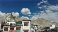 Videonauts backpacking Indien Leh fort