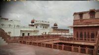 Videonauts backpacking Indien Rajasthan Bikaner Fort