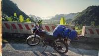 Videonauts backpacking Vietnam Catba Honda