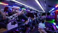 Videonauts backpacking Vietnam sleeper bus