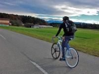 Videonauts Panoramaweg Isar Inn Fixie Singlespeed
