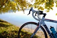 Videonauts Chiemsee Biketour Bianchi Rennrad