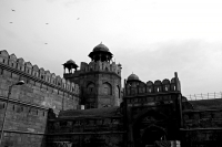 Videonauts Indien Business Reise 2012 New Delhi Red Fort