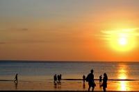 Videonauts Bali Kuta Beach sunset backpacking