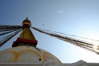 Videonauts Nepal Kathmandu Stupa Bodnath backpacking