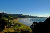 Videonauts Neuseeland beach backpacking