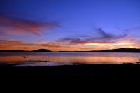 Videonauts Neuseeland Rotorua sunrise backpacking