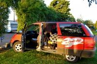 Videonauts Neuseeland Campervan Spaceship camping backpacking