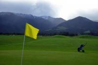 Videonauts Neuseeland Südinsel golf backpacking