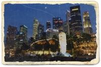 Videonauts Singapur Bay backpacking