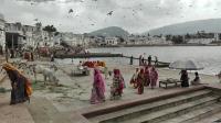 Videonauts backpacking Indien Pushkar Ghats 2