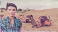 Videonauts backpacking Indien Rajasthan Jaisalmer camel ride desert