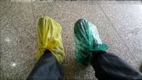 Videonauts backpacking Vietnam wet shoes