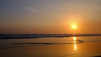 Videonauts Costa Rica Nicoya sunset backpacking