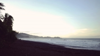 Videonauts Costa Rica Dominical beach Strand backpacking