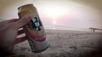 Videonauts Costa Rica beach and beer backpacking