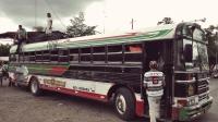 Videonauts Nicaragua chicken bus backpacking