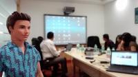 Videonauts Indien Business Trip Pune office