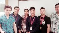 Videonauts Indien Business Trip Leatherman Team