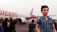 Videonauts Indien Business Trip Airport